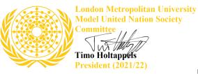 Signature President